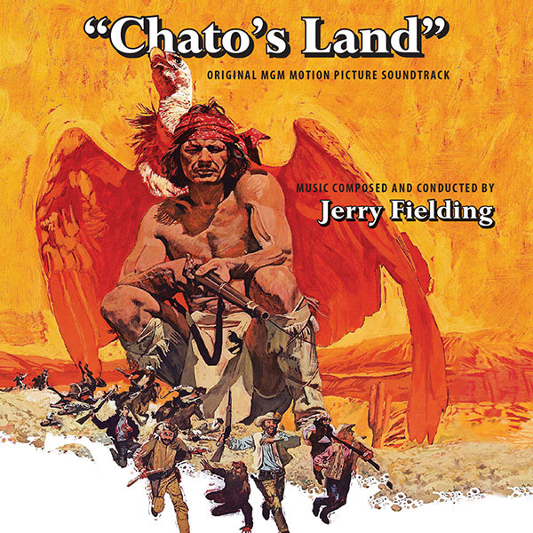 Chato's Land 1972 Soundtrtack CD Jerry Fielding