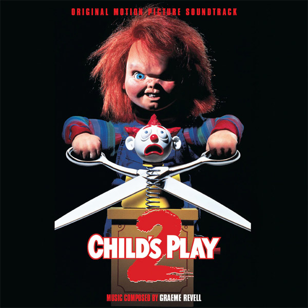 Child's Play 2 Soundtrack CD Graeme Revell