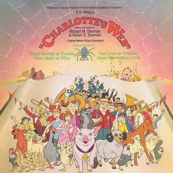 Charlotte's Web Soundtrack CD Richard M. Sherman and Robert Sherman