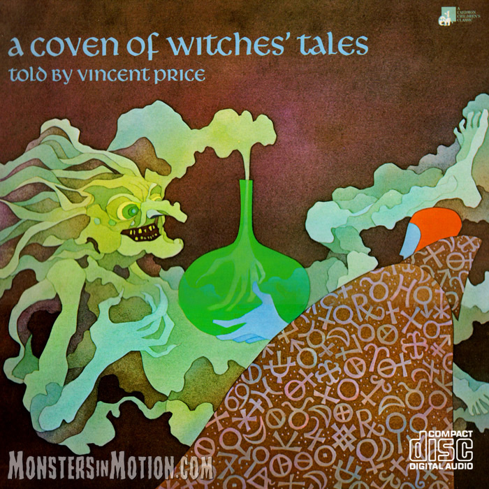 Coven of Witch Tales Told by Vincent Price Soundtrack CD