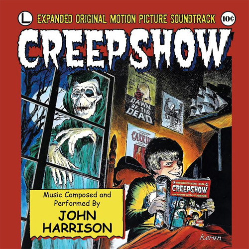 Creepshow Limited Edition Soundtrack CD John Harrison
