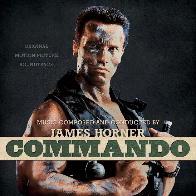 Commando Soundtrack CD James Horner LIMITED EDITION