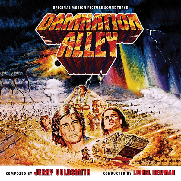 Damnation Alley Soundtrack CD Jerry Goldsmith