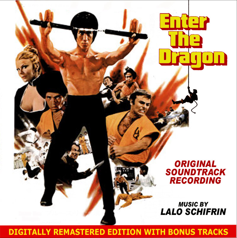 Enter The Dragon Soundtrack CD Lalo Schifrin Bruce Lee