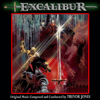 Excalibur Soundtrack CD Trevor Jones
