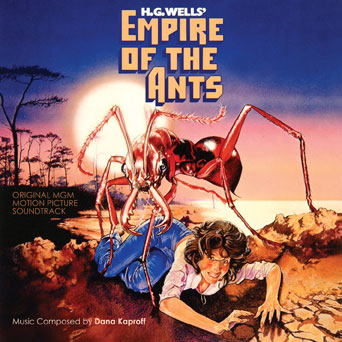 Empire of the Ants Soundtrack CD Dana Kaproff