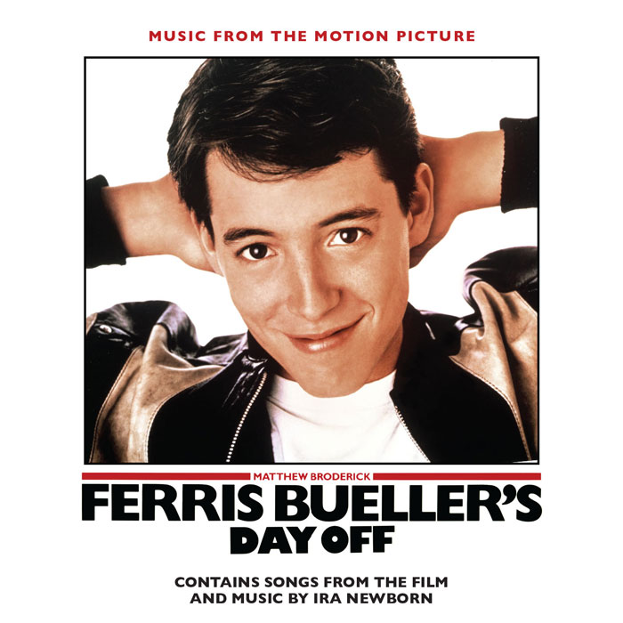 Ferris Bueller's Day Off Soundtrack CD Pop Songs and Ira Newborn