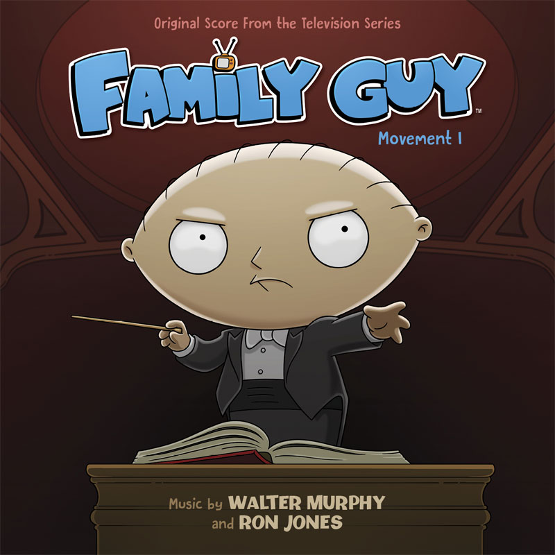 Family Guy Movement 1 Soundtrack CD by Walter Murphy