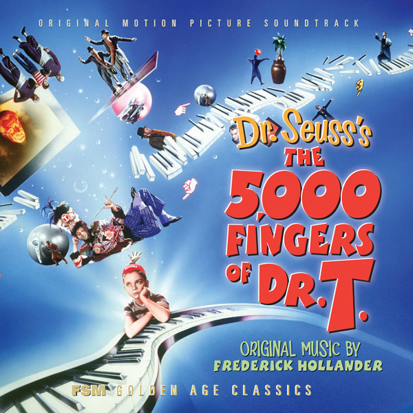 5,000 Fingers Of Dr. T. Soundtrack CD Fredrick Hollander