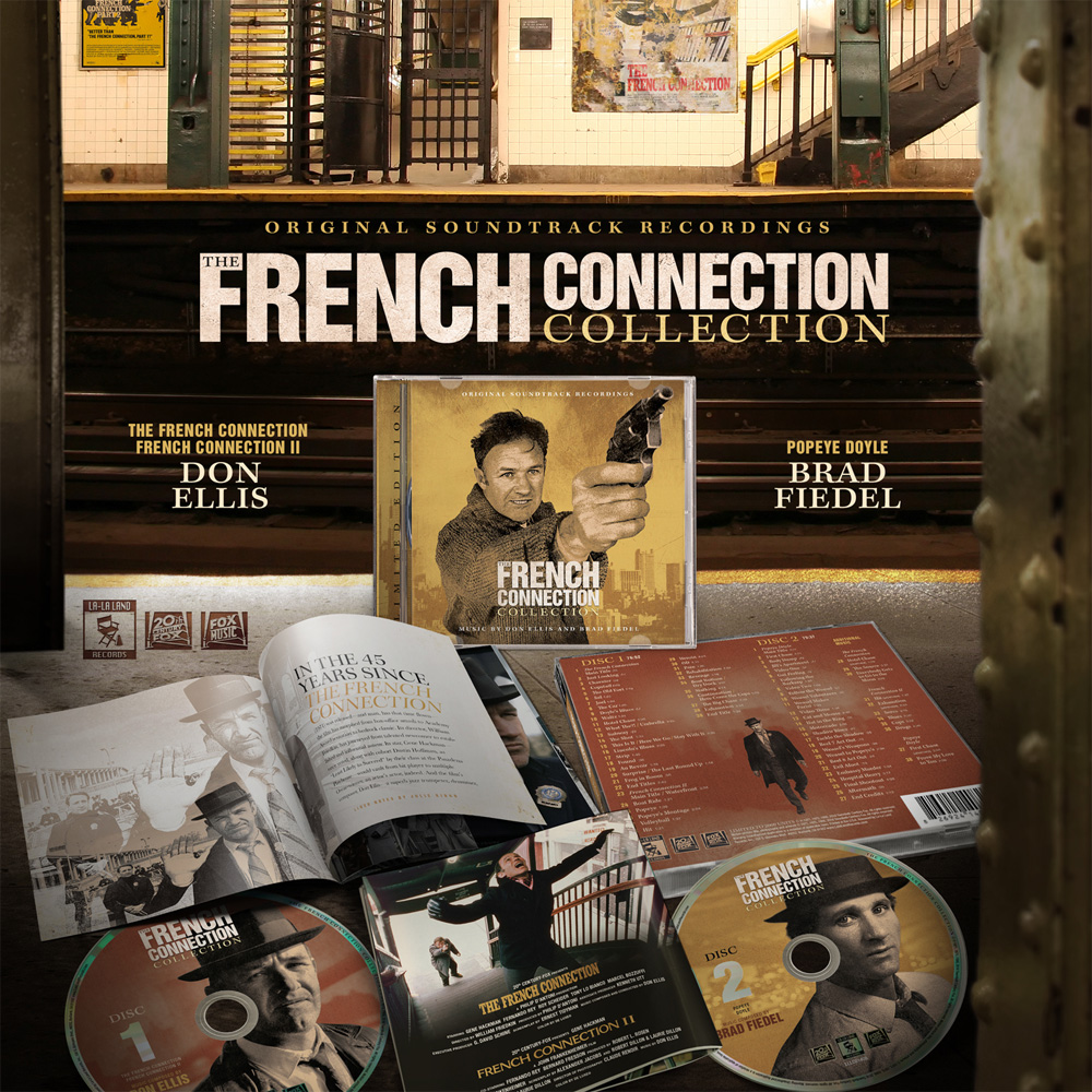 French Connection Soundtrack CD Limited Edition 2CD Set Don Ellis