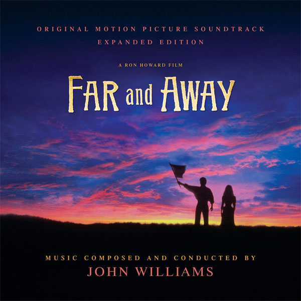 Far and Away Soundtrack CD John Williams LIMITED EDITION 2 CD SET