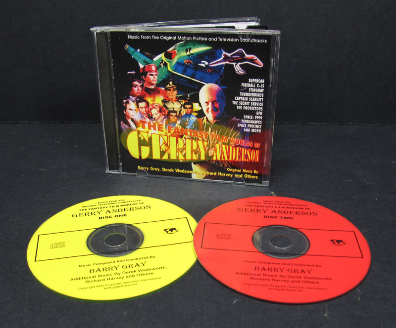 Fantasy Film Worlds Of Gerry Anderson Soundtrack CD
