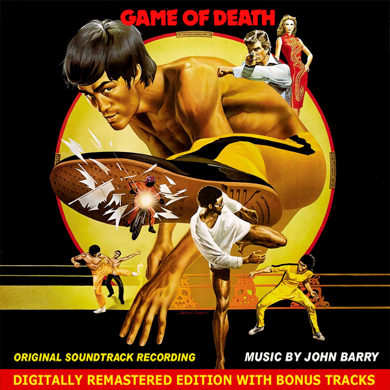 Game Of Death Soundtrack CD John Barry Bruce Lee