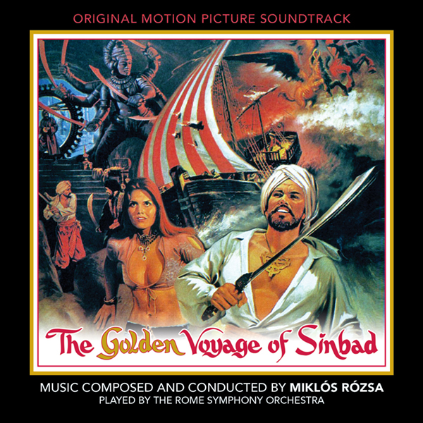 Golden Voyage Of Sinbad Complete Soundtrack 2 CD Set Miklos Rozsa