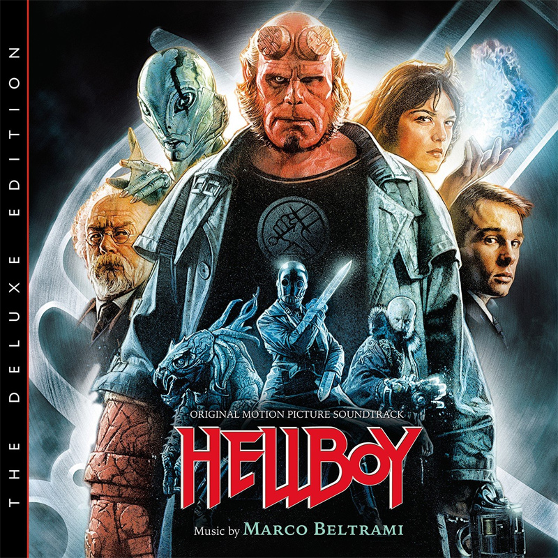 Hellboy The Deluxe Edition Soundtrack CD Marco Beltrami 2CD SET