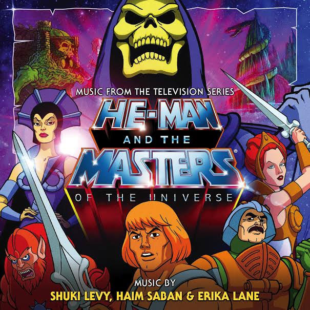 He-Man and the Masters of the Universe Soundtrack 2CD Set LIMITED EDITION