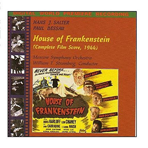 House Of Frankenstein Complete Soundtrack CD Hans Salter