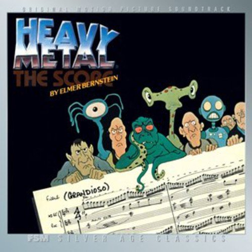 Heavy Metal The Score 1981 Soundtrack CD Elmer Bernstein