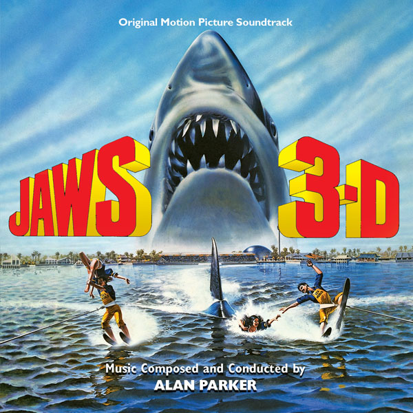 Jaws 3-D Soundtrack CD Alan Parker 2 CD Set