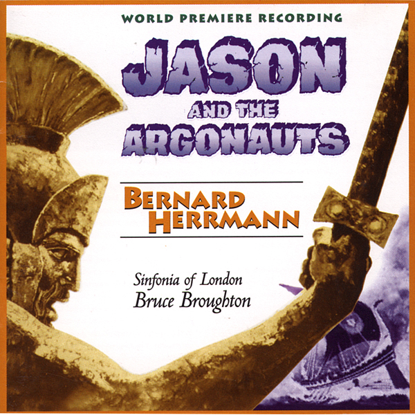 Jason And The Argonauts Soundtrack CD Bernard Herrmann