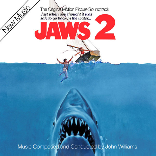 Jaws 2 Expanded Soundtrack CD John Williams 2 CD SET
