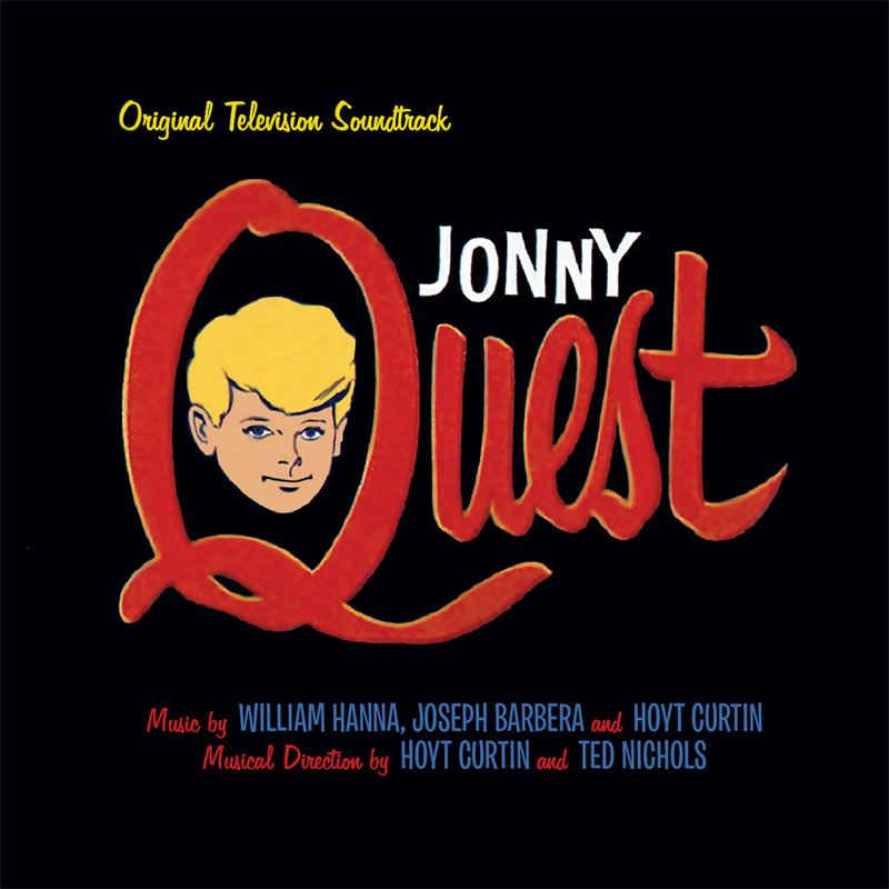 Jonny Quest Original Television Soundtrack CD Hoyt Curtin LIMITED EDITION 2CD SET