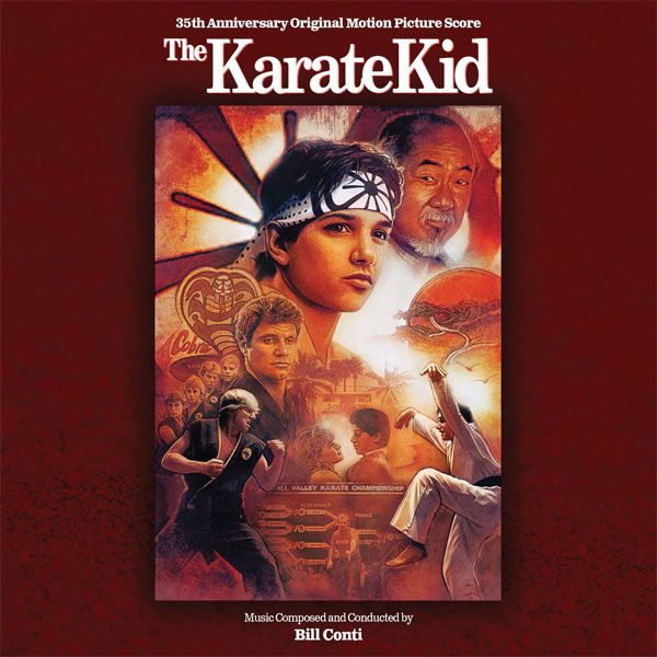 Karate Kid 35th Anniversary Soundtrack CD Bill Conti LIMITED EDITION