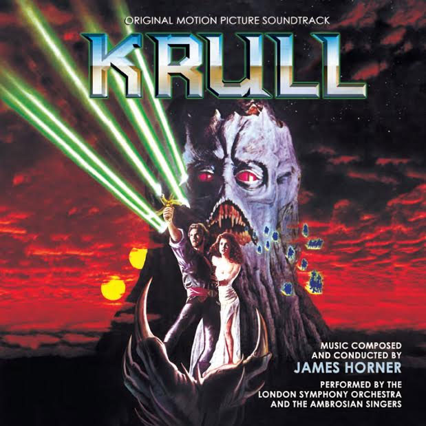 Krull Soundtrack CD James Horner Limited Edition 2CD Set