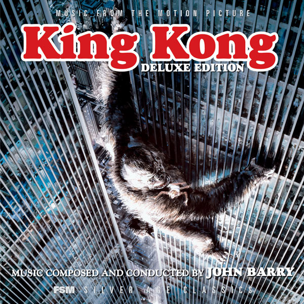 King Kong 1976 Soundtrack CD John Barry Deluxe Edition