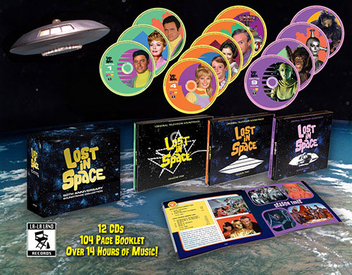 Lost In Space 50th Anniversary Soundtrack 12 CD Box Set John Williams