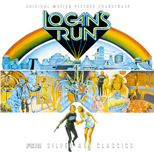 Logan's Run Soundtrack CD Jerry Goldsmith
