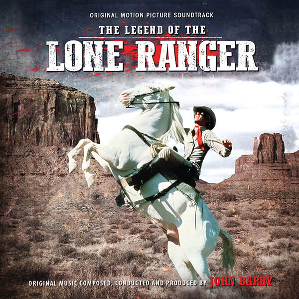Legend of the Lone Ranger Soundtrack CD John Barry