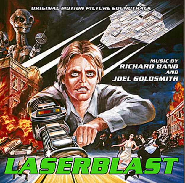 Laserblast Original Motion Picture Soundtrack CD Richard Band
