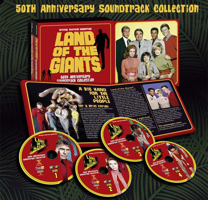Land Of The Giants 50th Anniversary Soundtrack 4CD Set