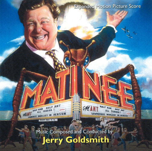 Matinee Expanded Soundtrack CD Jerry Goldsmith