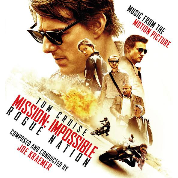Mission Impossible Rogue Nation Soundtrack CD Joe Kraemer