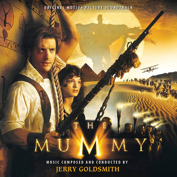 Mummy 1999 Soundtrack CD Jerry Goldsmith 2 CD Set