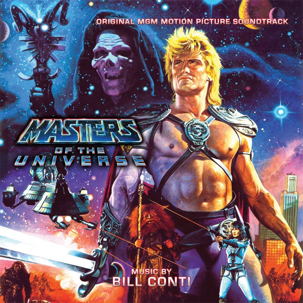 Masters of the Universe Soundtrack CD Bill Conti 2 CD Set LIMITED EDITION