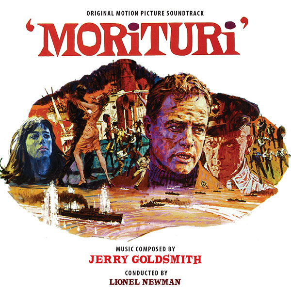 Morituri Soundtrack CD Jerry Goldsmith