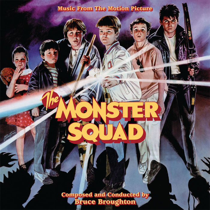 Monster Squad Soundtrack CD Bruce Broughton LIMITED EDITION
