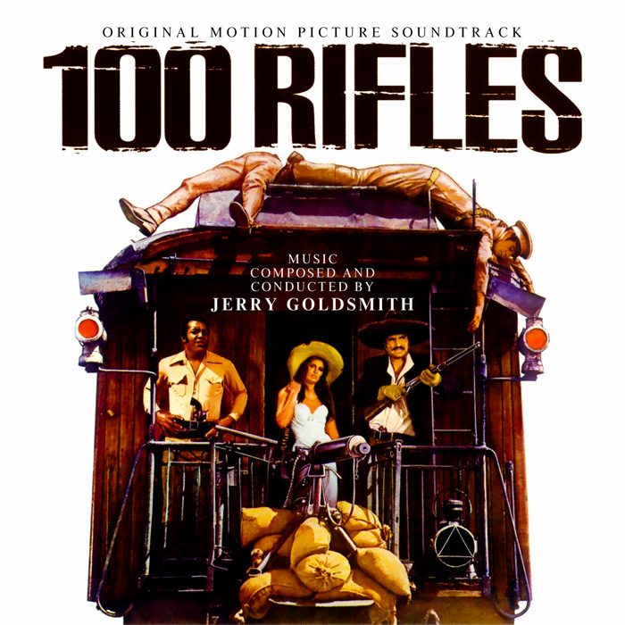 100 Rifles / Rio Conchos Soundtrack CD Jerry Goldsmith