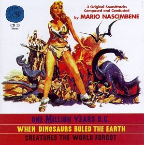 One Million Years BC Soundtrack CD Mario Nascimbene