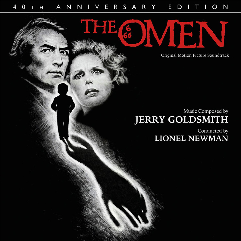 Omen, The 40th Anniversary Edition Soundtrack CD Jerry Goldsmith