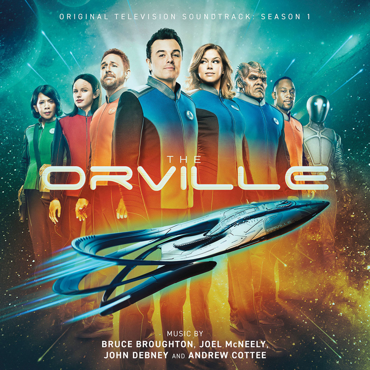 Orville Original Television Soundtrack Season 1 (2-CD Set)