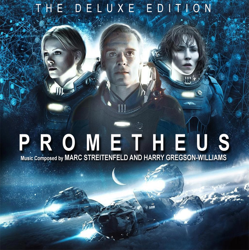 Prometheus Deluxe Edition Soundtrack CD Harry Gregson Williams and Mark Streitenfeld 2CD SET