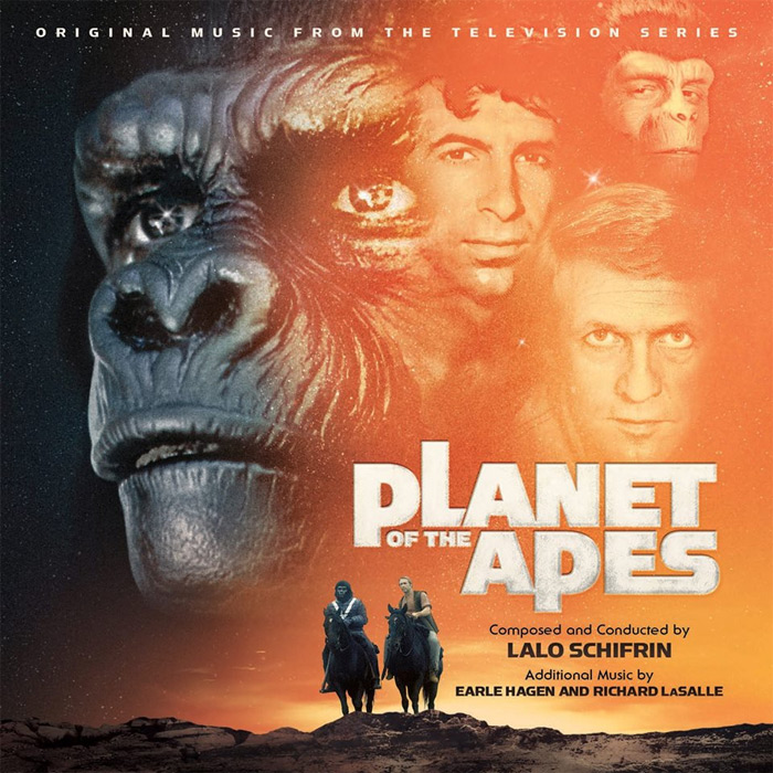 Planet of the Apes TV Series Soundtrack CD Lalo Schifrin 2CD Set LIMITED TO 2000