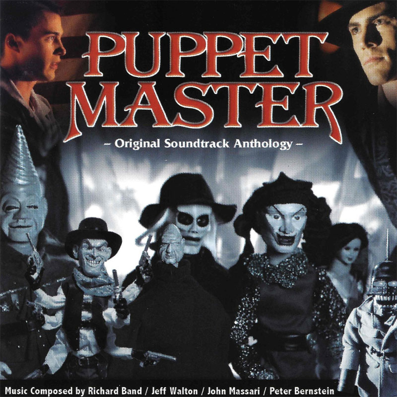 Puppet Master The Soundtrack Collection 5 CD Box Set