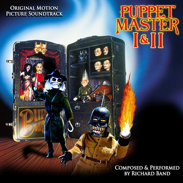 Puppet Master I & II Soundtrack CD Richard Band - Click Image to Close
