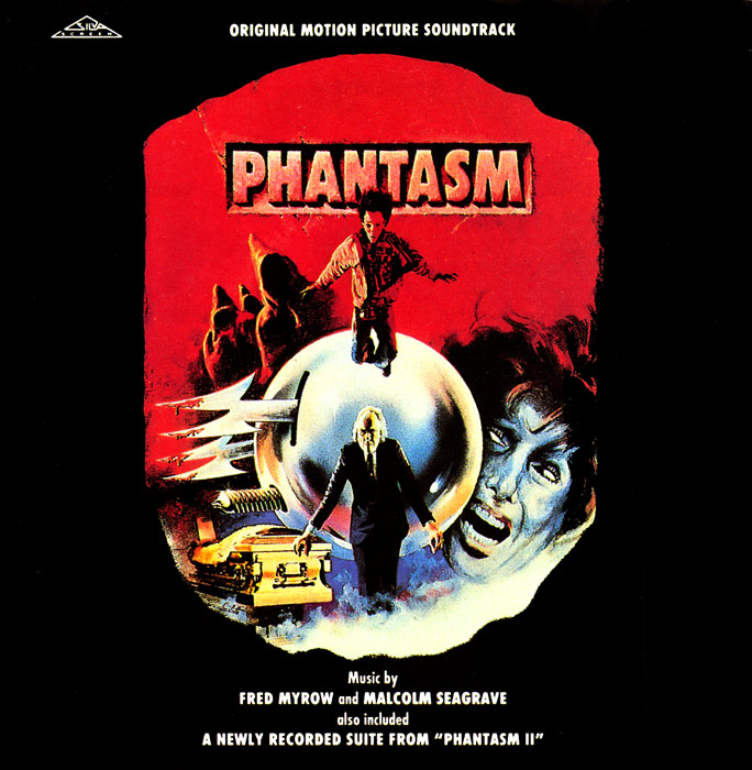 Phantasm 1 & 2 Soundtrack CD Fred Myrow