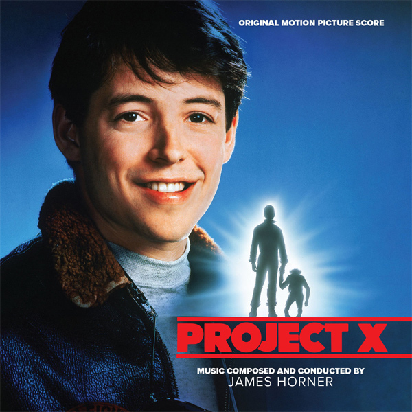 Project X Soundtrack CD James Horner LIMITED EDITION